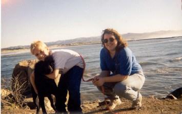 Mary, Chip, Abner Morro Bay 2000